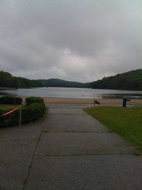 Lake at Harriman State Park